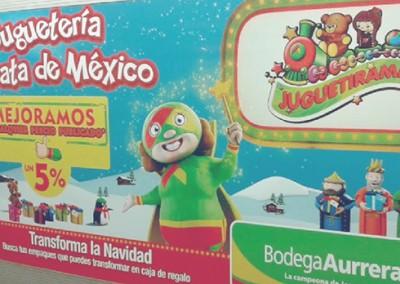 Bodega Aurrera tiene algo que decirle a los reyes que se trasladan en metro