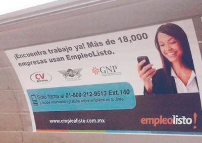 Empleo Listo informa como buscar trabajo a los usuarios del Metro