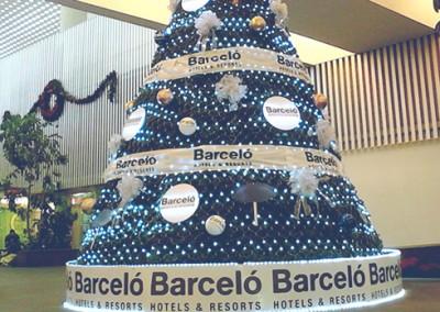 Se visten de navidad los principales aeropuertos de la república