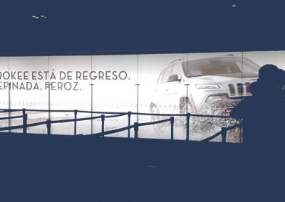 La nueva Jeep Cherokee Impacta con fuerza a viajeros de zona internacional