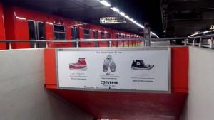 Converse, un clásico que da pasos firmes en el Metro DF