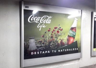Coca Cola Life, también llega al Metro DF