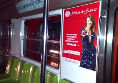 Liverpool y Fábricas de Francia implementan campaña integral en el Metro DF
