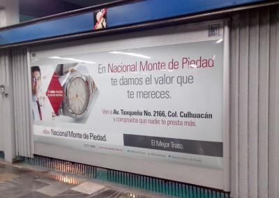 Nacional Monte de Piedad, lanza campaña en los 3 metros del país