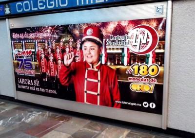 Lotería Nacional invita a dar el grito en los metros y el AICM