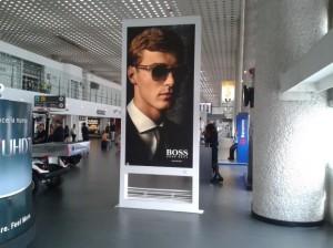 Las marcas de lujo como Hugo Boss apuestan por el AICM