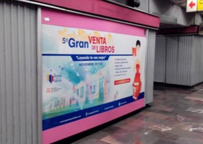 Un paseo por los libros en Metro