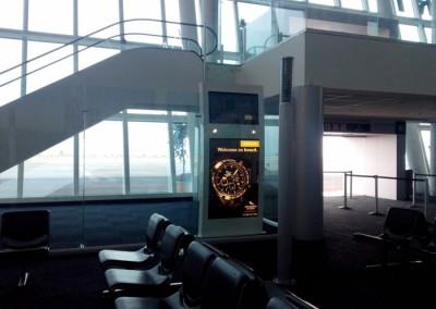 Strumento Marino en el Aeropuerto de Puebla
