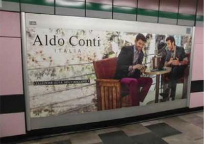 Aldo Conti quiere posicionarse entre los usuarios de los metros