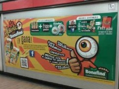 En el Metro DF se mete gol con Bonafina