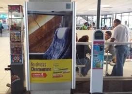 Un viaje más placentero ofrece Dramamine a los pasajeros en centrales de autobuses