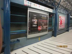 La Chica del tren está ahora en el Metro DF