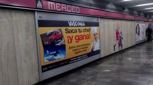 Vasconia invita alos usuarios del Metro DF a sacar su Cheff interior