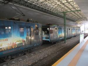"""El Hombre lobo,  El Yeti y otras criaturas causan  """"Escalofríos"""" en el Tren ligero de Guadalajara"""