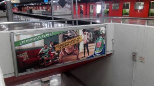 Lo que pasa en el Pre, se queda también en el Metro DF