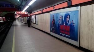 Antman, el hombre hormiga, demuestra su poder en el Metro DF