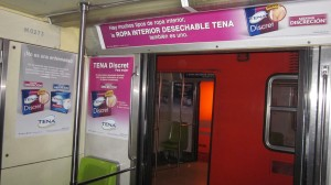 SCA apuesta por impactar a las usuarias del Metro DF