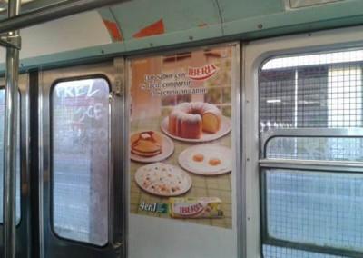 Iberia invita a cocinar más rico en el metro DF