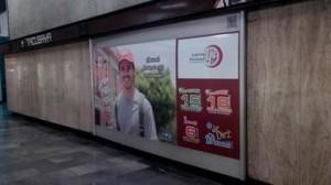 Lotería Nacional desea mucha suerte a los usuarios de Metros y Aeropuertos