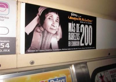 """Las grandes """"figuras"""" se acercan al Metro DF en el Verano"""