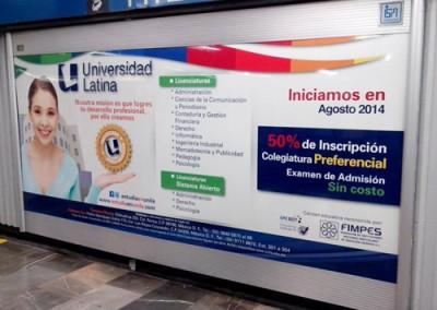 Universidad Latina invita a prepararse a los usuarios del Metro DF