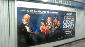 El cine mexicano también se sube al metro