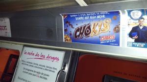 Galletas Chokis de Gamesa, llena de chispas de chocolate el Metro DF