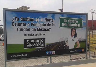 El Circuito Exterior Mexiquense genera altas expectactivas para el ahorro de tiempo entre los viajeros del aeropuerto