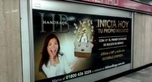 Handbags quiere que los usuarios los lleven en su bolsa