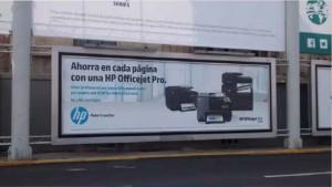 HP Impresoras dejan huella en espacios de gran formato en el AICM