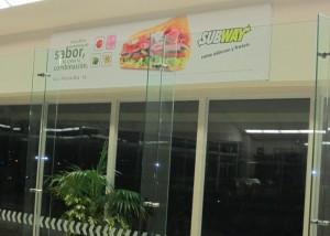 Subway recibe a los viajeros de Tuxtla
