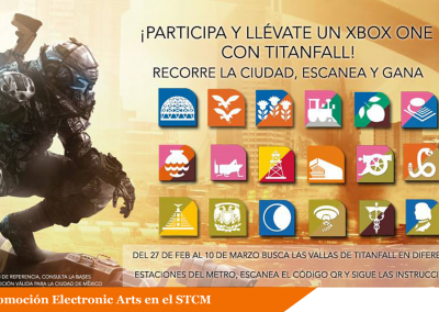 Electronic Arts lanza concurso en el Metro DF