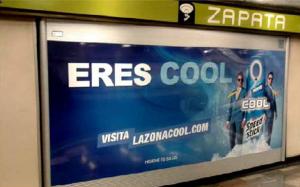 Speed Stick Cool refrescando a los usuarios del Metro DF
