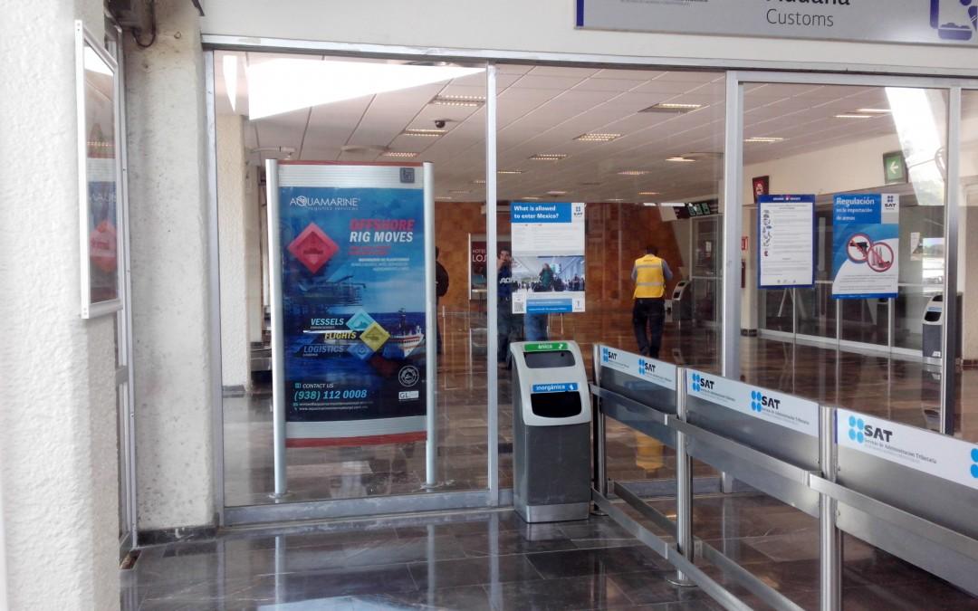 Aquamarine ofrece servicios especializados en el aeropuerto de Ciudad del Carmen