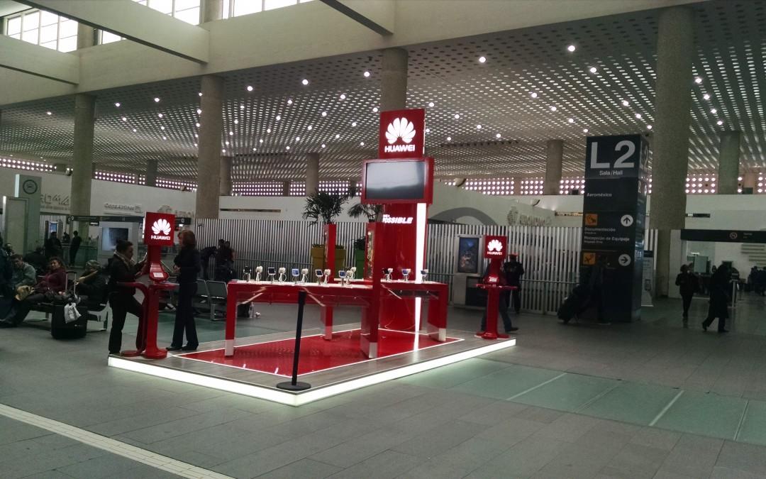 Huawei lo hace posible en el AICM