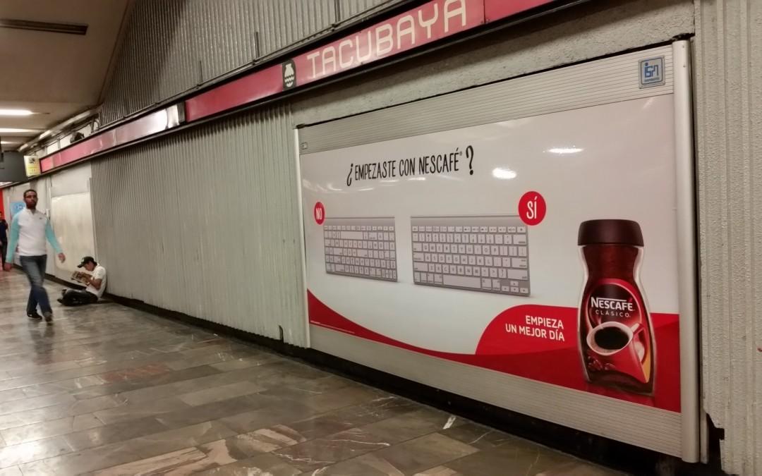 Empieza un gran día con Nescafé en el Metro CDMX