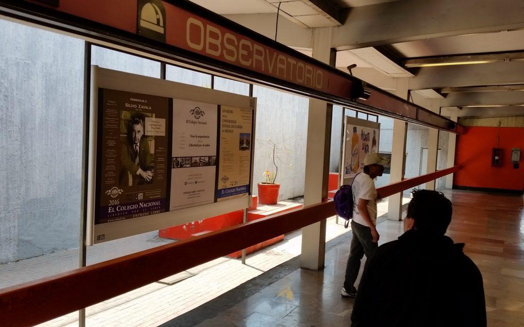 El Colegio Nacional promueve la cultura en el Metro CDMX