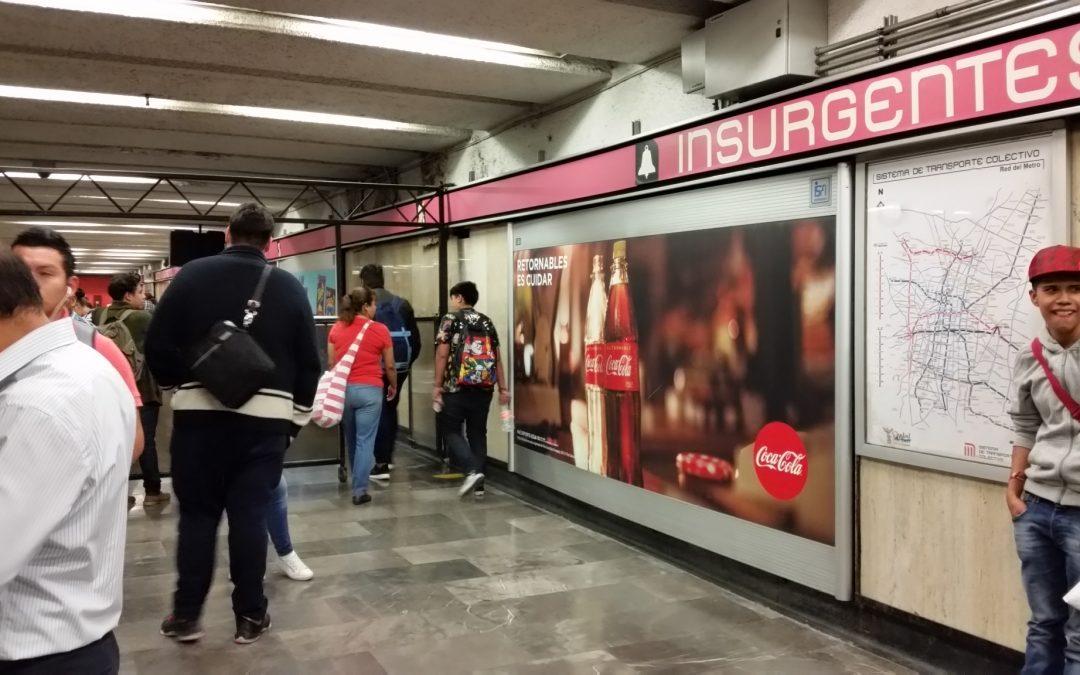 Coca Cola promueve el cuidado al medio ambiente en el Metro CDMX