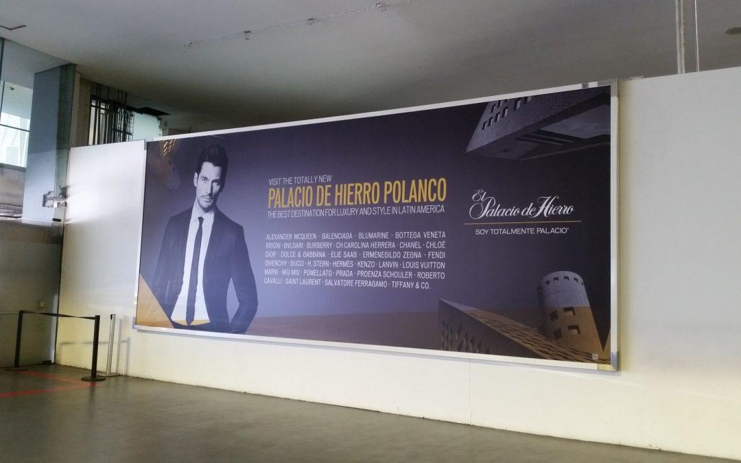 El Palacio de Hierro marca la pauta del estilo en el AICM