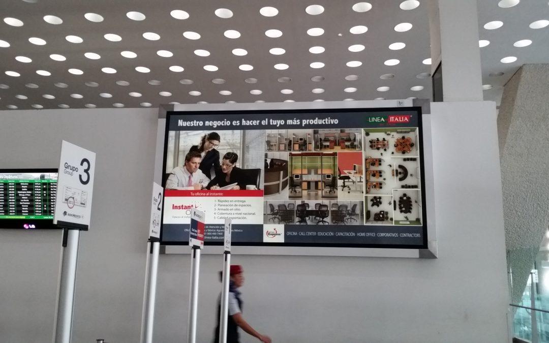 Línea Italia ofrece oficinas al instante en la T2 del  AICM