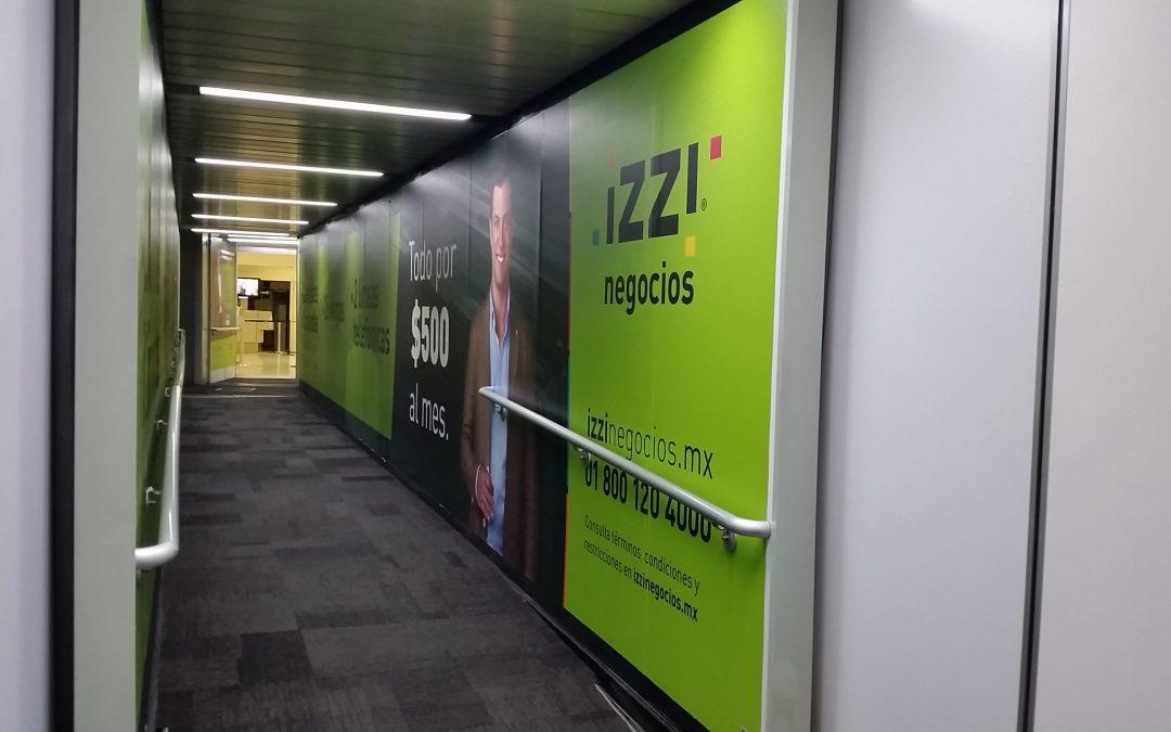 IZZI negocios se acerca al target adecuado en el AICM