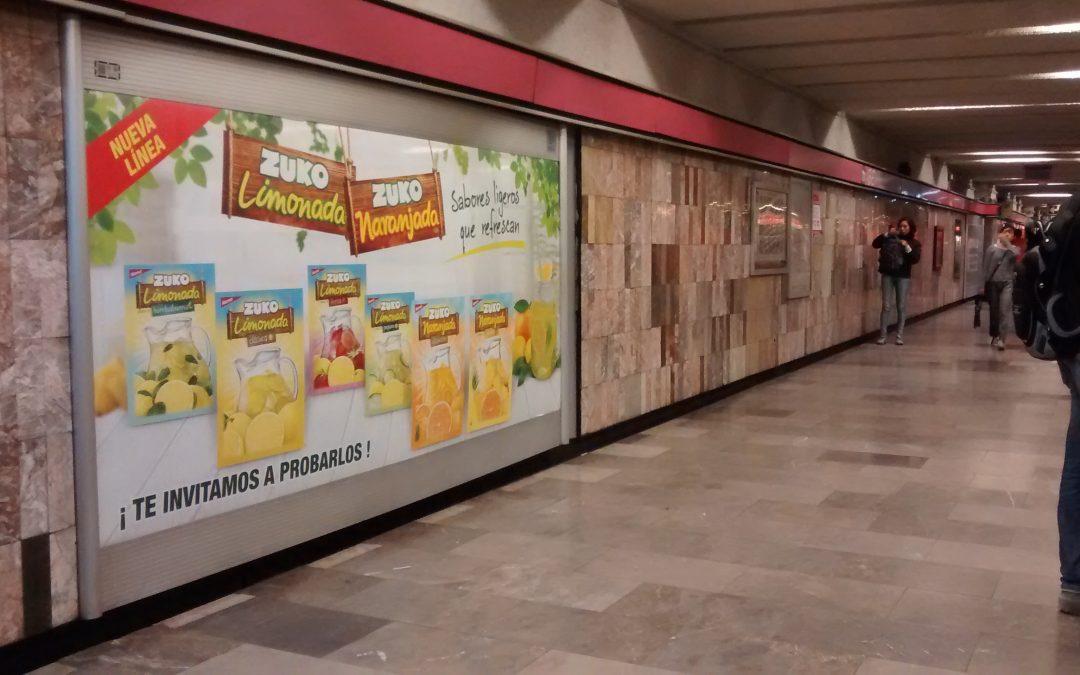 Zuco aligera el verano en el  Metro CDMX