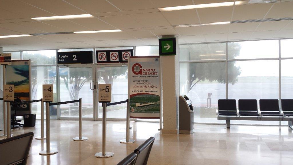 Grupo Galvan desea feliz viaje a  los pasajeros del aeropuerto de Nuevo Laredo