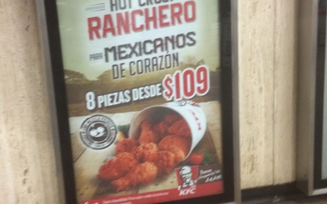 KFC, se pone muy mexicano en el Metro CDMX