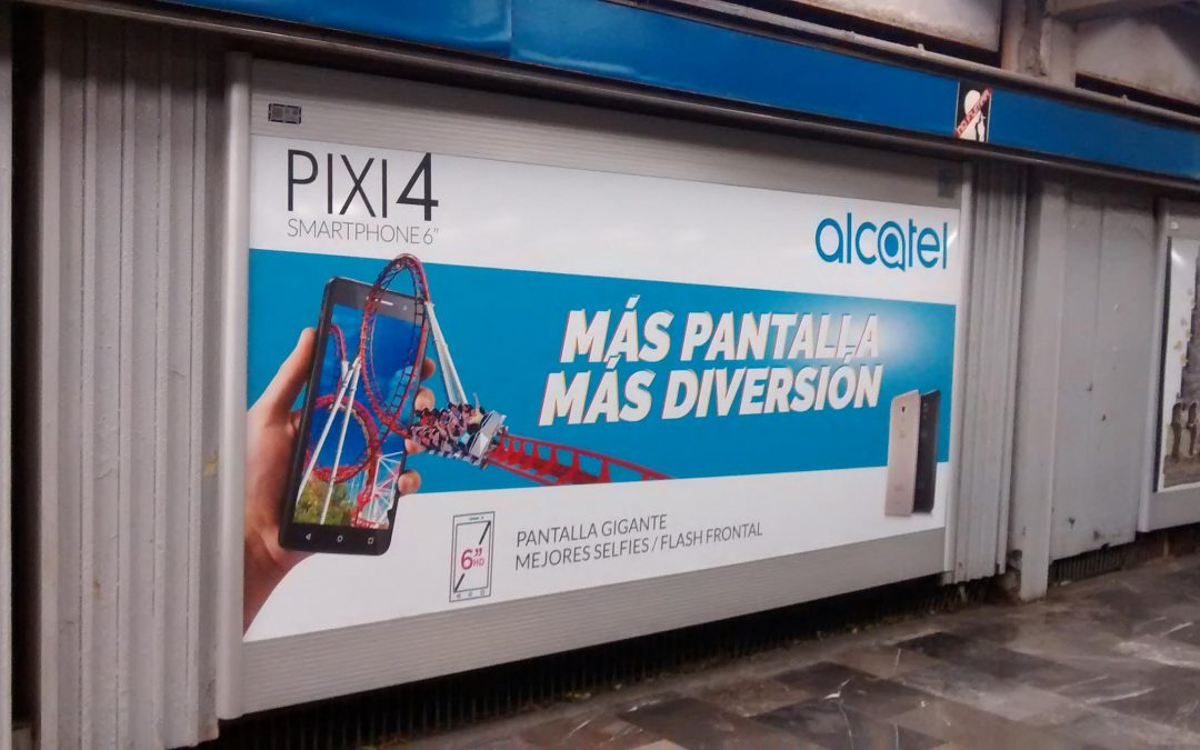Alcatel lanza su innovación en el  Metro CDMX