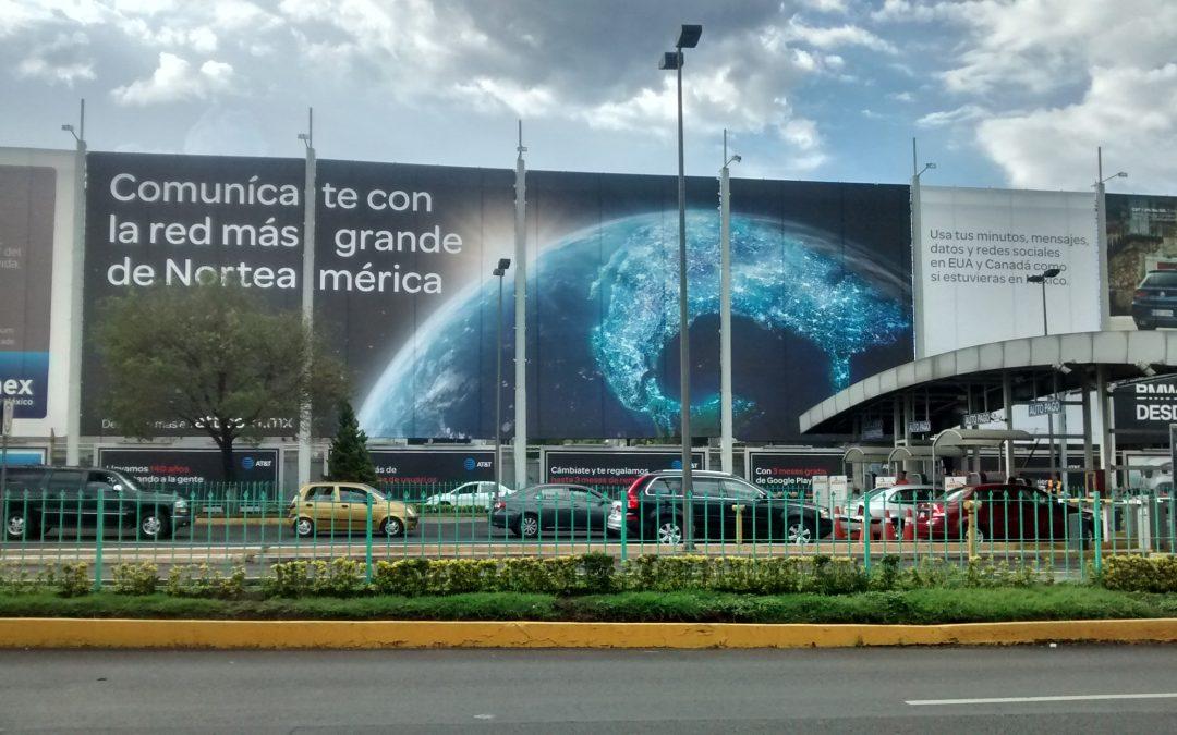 La red más grande de Norte América se comunica en los espacios más grandes del AICM