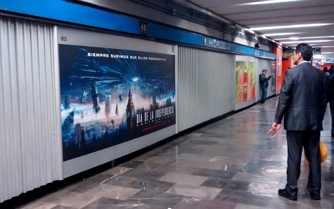 Terror y ciencia ficción en el Metro CDMX