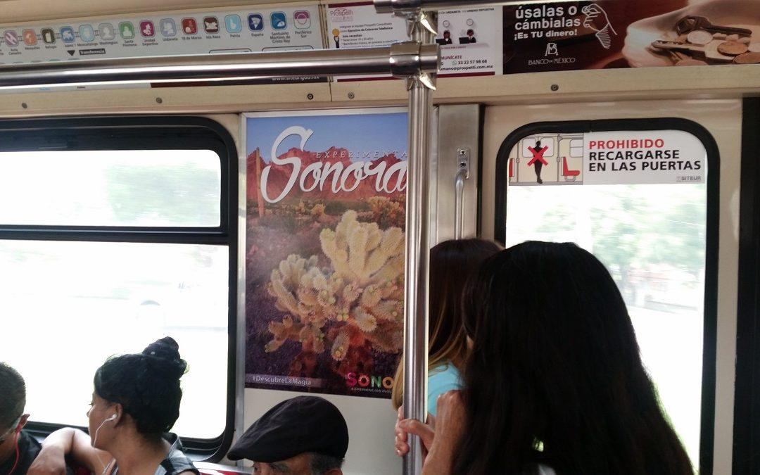 El estado de SONORA despliega todo su esplendor en los espacios del Metro CDMX
