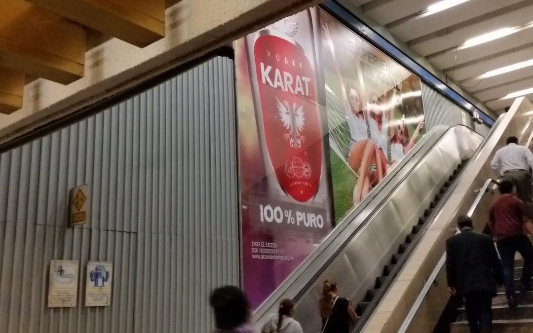 Vodka Karat invita a una experiencia sin igual en el Metro CDMX