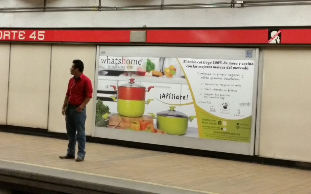Whatshome busca emprendedor@s en el Metro CDMX